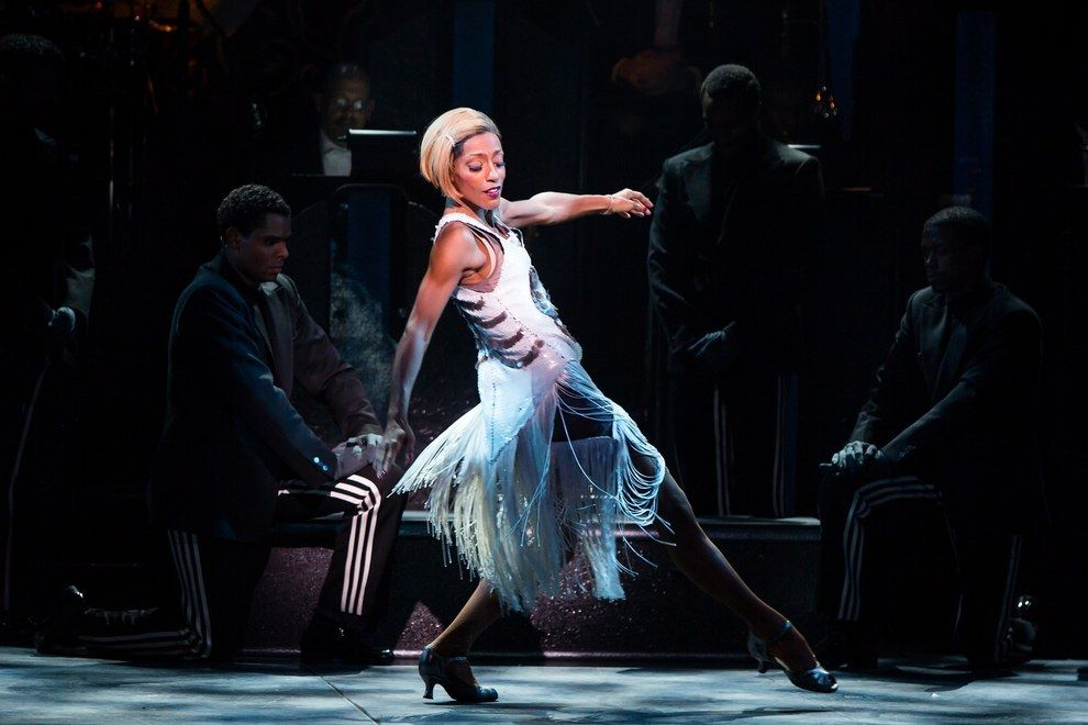 17. Hottest Legs For Days/Smoking Hot Dancer Body: Karine Plantadit (After Midnight) | 26 Hottest Performances On Broadway