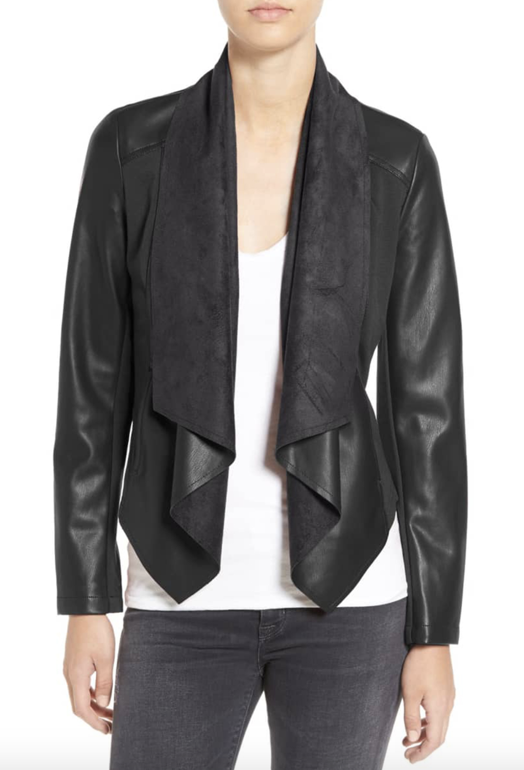 Shoppers Are Calling This 50 off FauxLeather Jacket