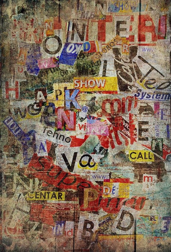 Grunge Graffiti Collage