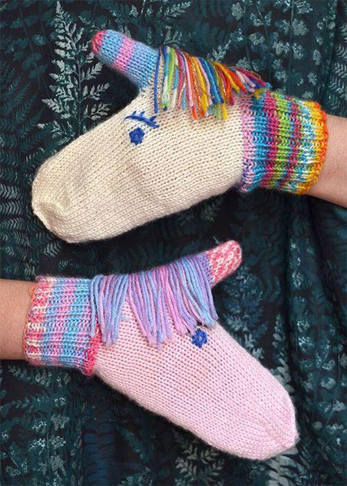 Fun Mitten and Glove Knitting Patterns : Knitting Patterns ...