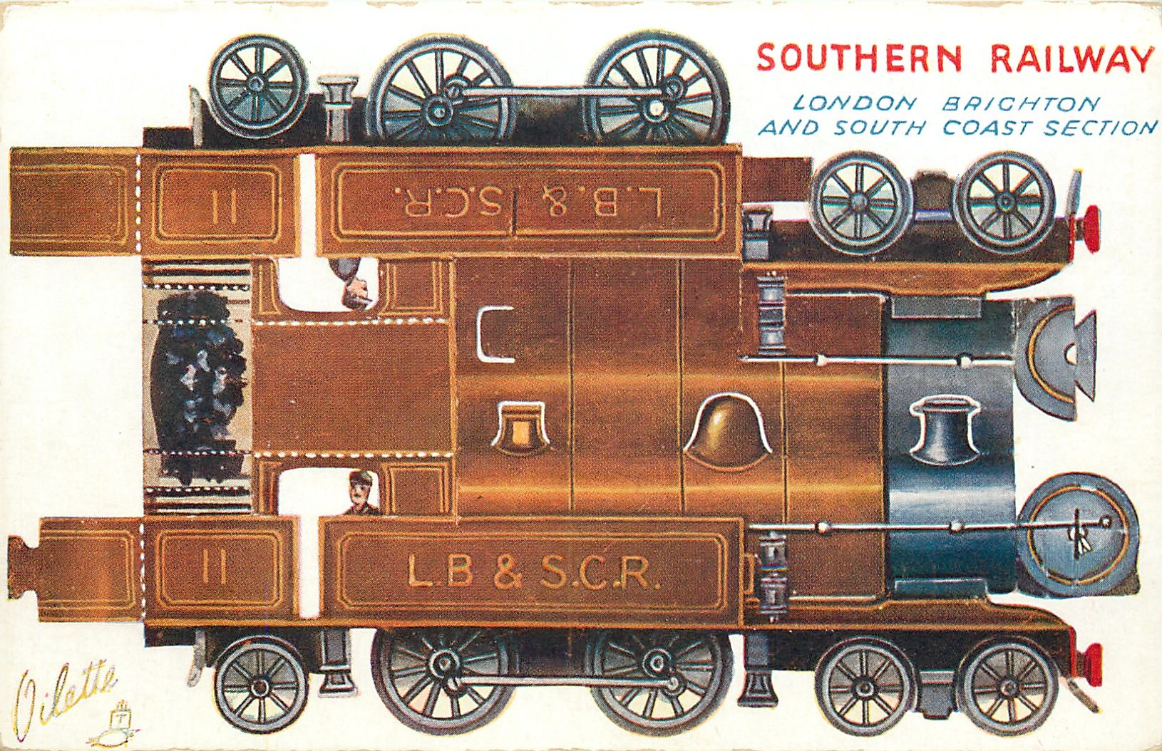 Southern Railway London Brighton And South Coast Section