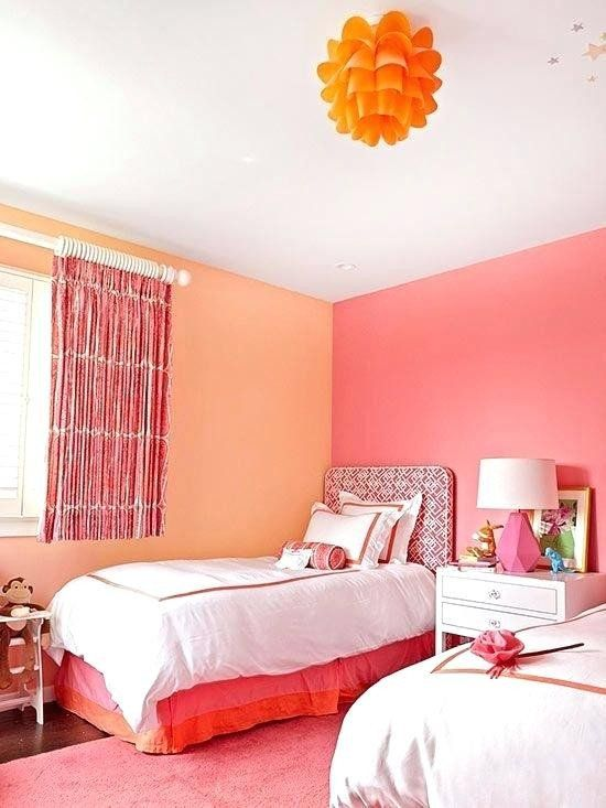 Two Colour Combination For Bedroom Wall Lovely Pink Two Colour Bination For Living Room In 2020 Bedroom Color Combination Room Wall Colors Happy Room