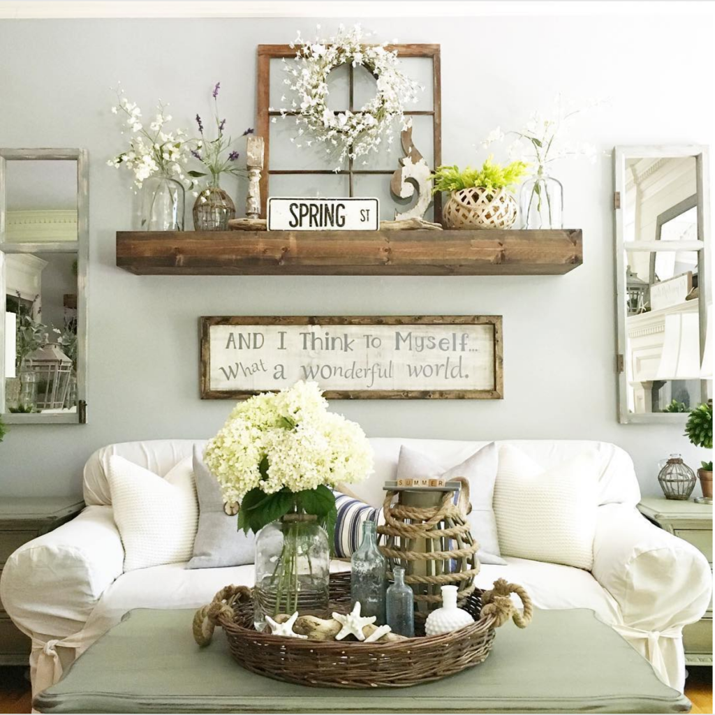 amazing country living room decorating ideas | 25 Must-Try Rustic Wall Decor Ideas Featuring The Most ...
