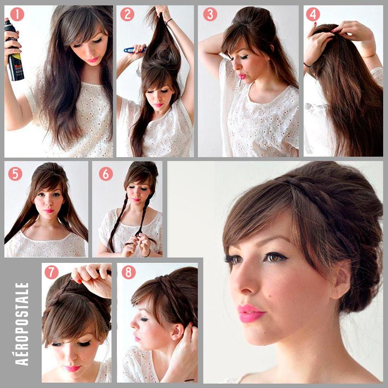 Extremadamente atractivo peinados super faciles Colección De Consejos De Color De Pelo - Un peinado súper fácil #Hair #Hairstyle | Peinados ...