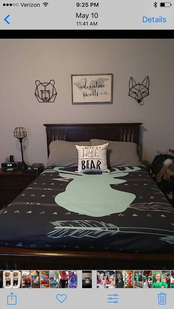 Photo of SALE Deer Arrow Bedding for Kids Deer Arrow Duvet for Boys Hunting Name Duvet Personalized Duvet Set  Custom Kids Tribal Bed