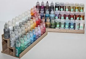WELCOME TO: How I organize my liquid pearls, stickles and glitters