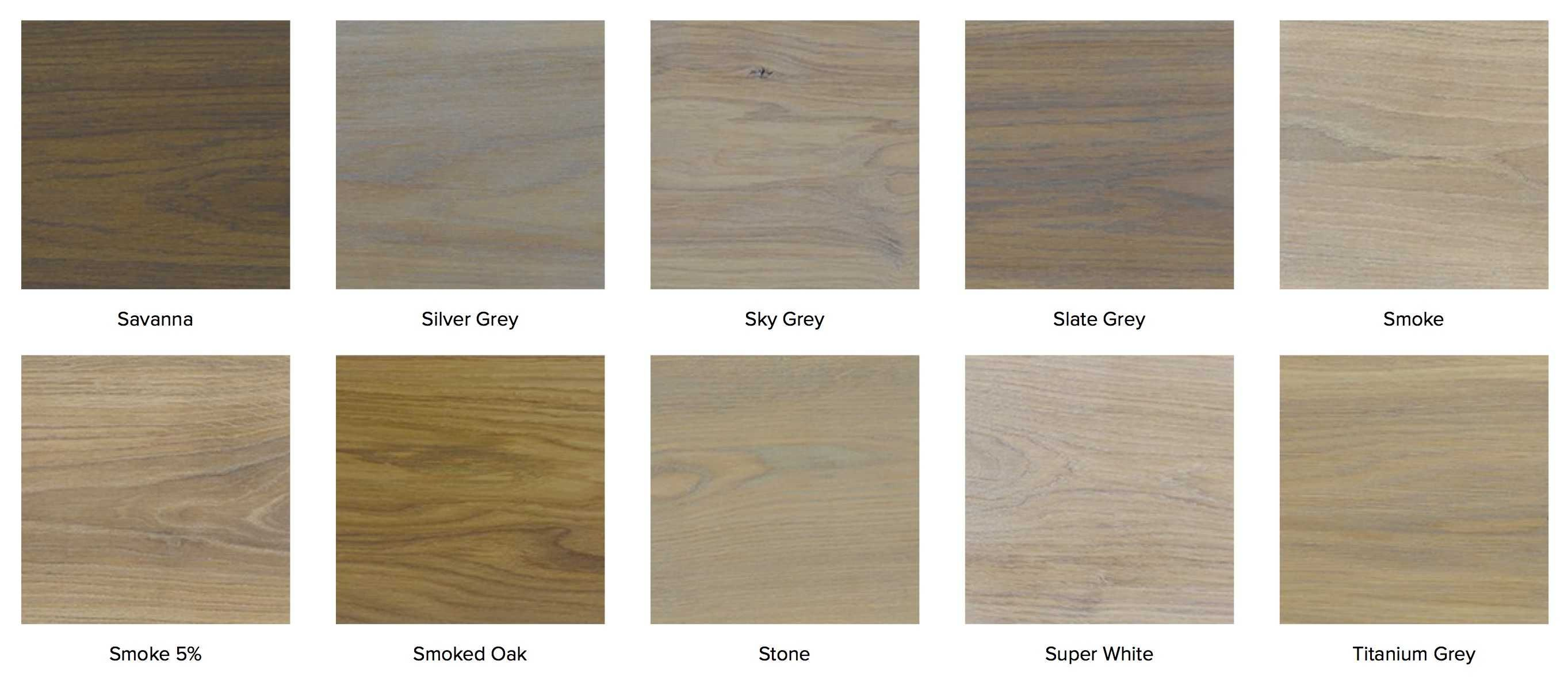 Rubio Monocoat Hardwax Oil Color Swatch Chart For Wood Floors