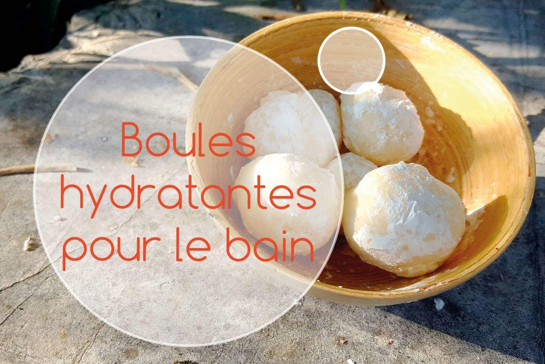 boule hydratante pour le bain   Boule de bain, Lait et ...