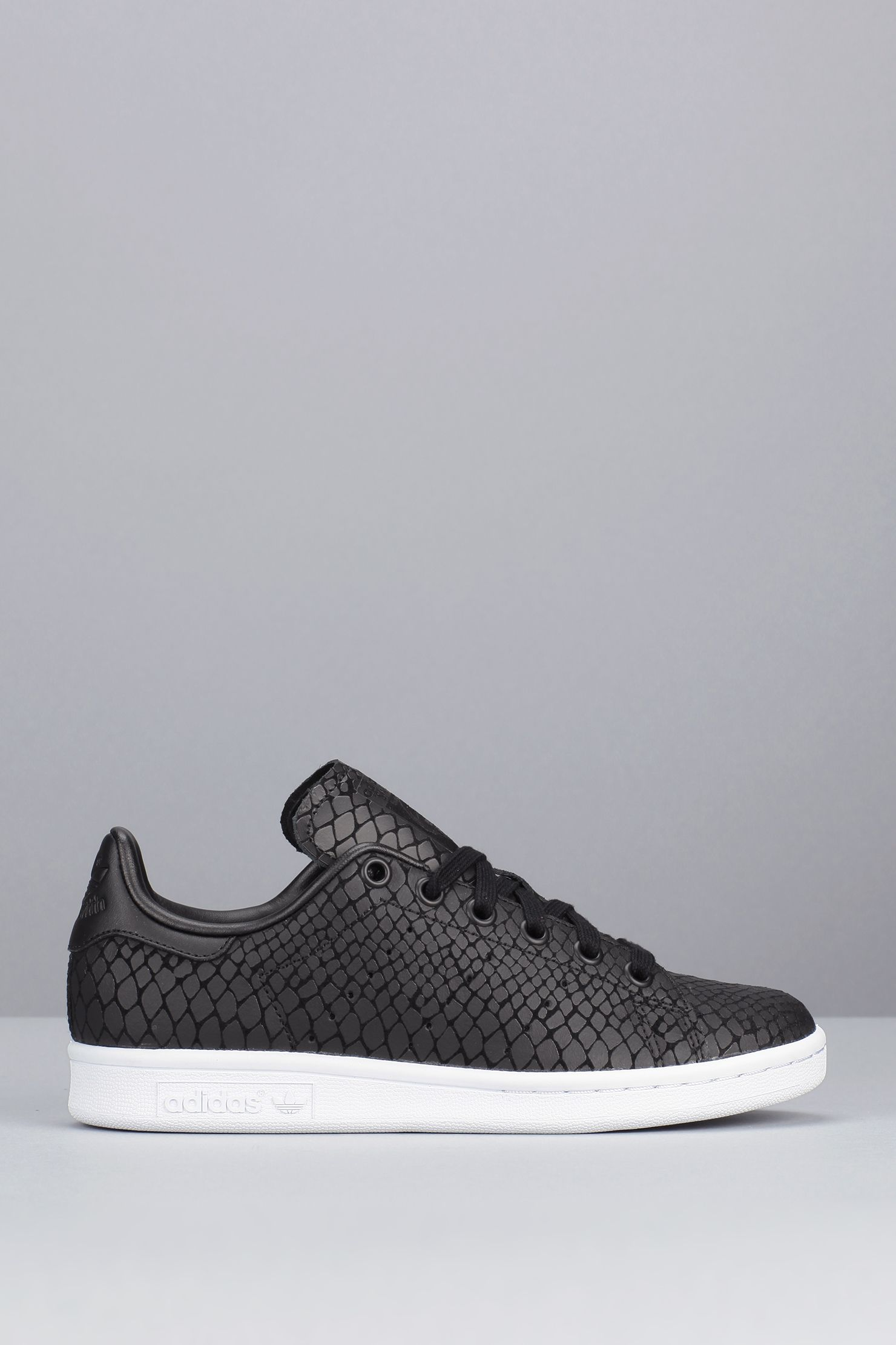 Sneakers Stan noires imprimées reptile Stan Sneakers Smith | Adidas LOVE 299575