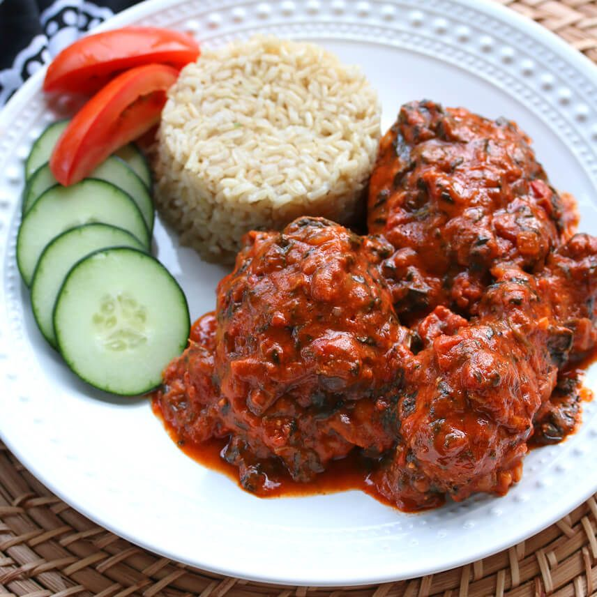 This popular dish from Sierra Leone and Gambia represents West African comfort food at its best!