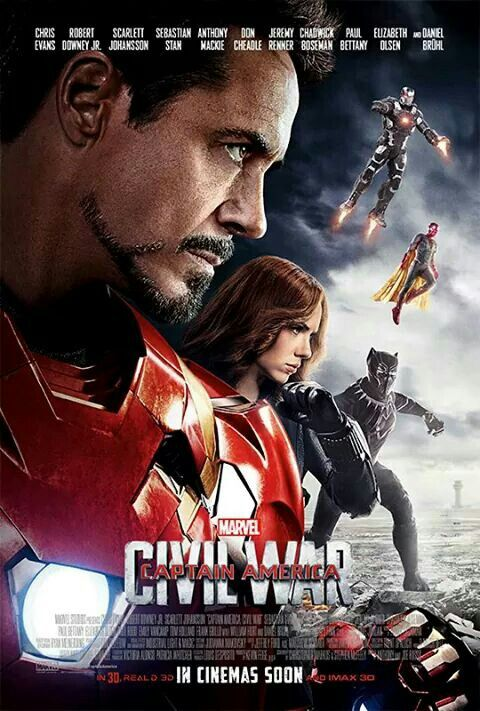 Pin By Ana Sandoval Poveda On Marvel Captain America Civil War Poster Civil War Movies Civil War Marvel