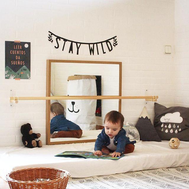 Minimalist Toddler Bedroom With Floor Bed Instagram Inspiration