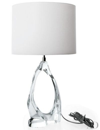Cannes crystal table lamp by aerin