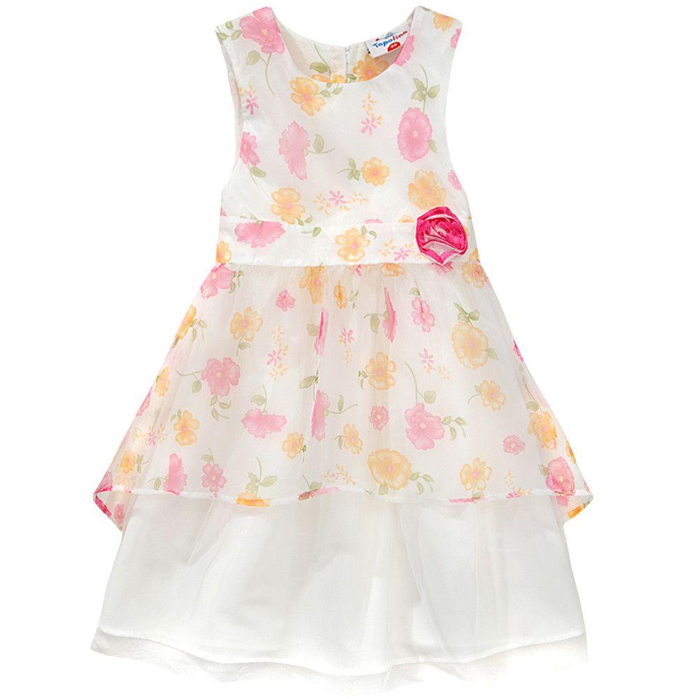 6aad5b1ff3541e Mädchen-Kleid von Topolino bei Ernstings family günstig shoppen ...