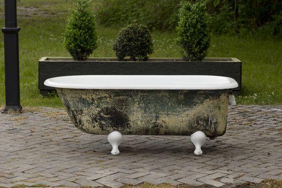 Antique 1908 Refinished 5 Clawfoot Bathtub Antique Meets Modern