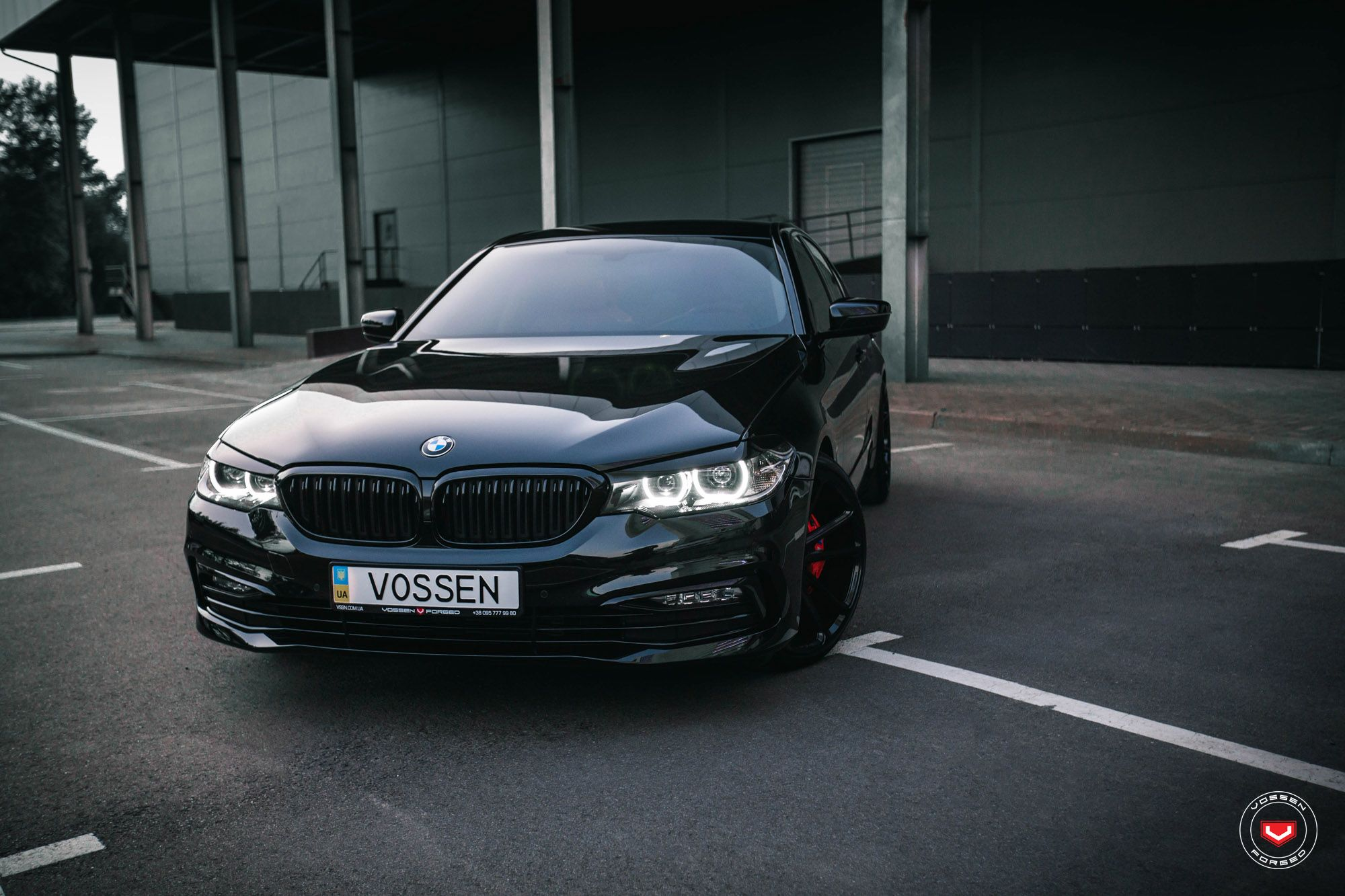 This 2018 Bmw 5 Series Gets A Blacked Out Look Mașini
