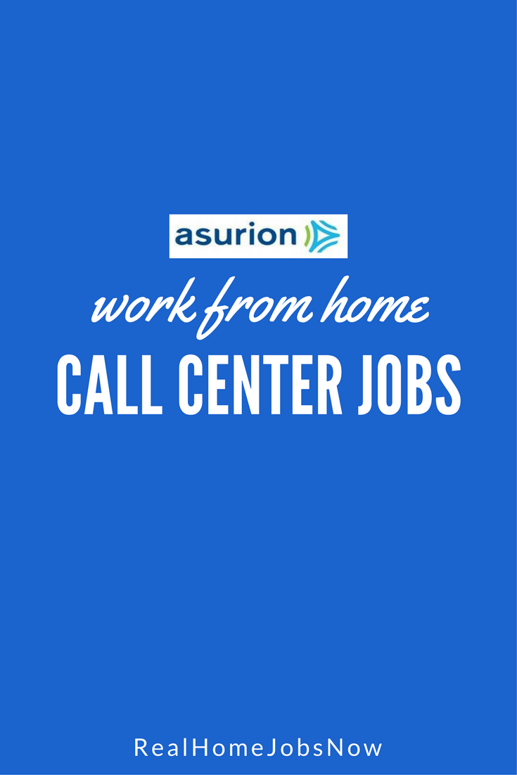 Asurion hires agents to work from home as benefits-eligible employees!