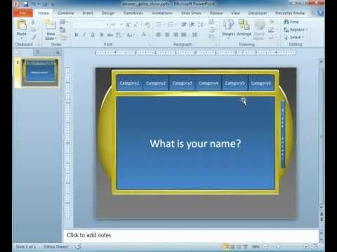 game show powerpoint template brainy betty pinterest