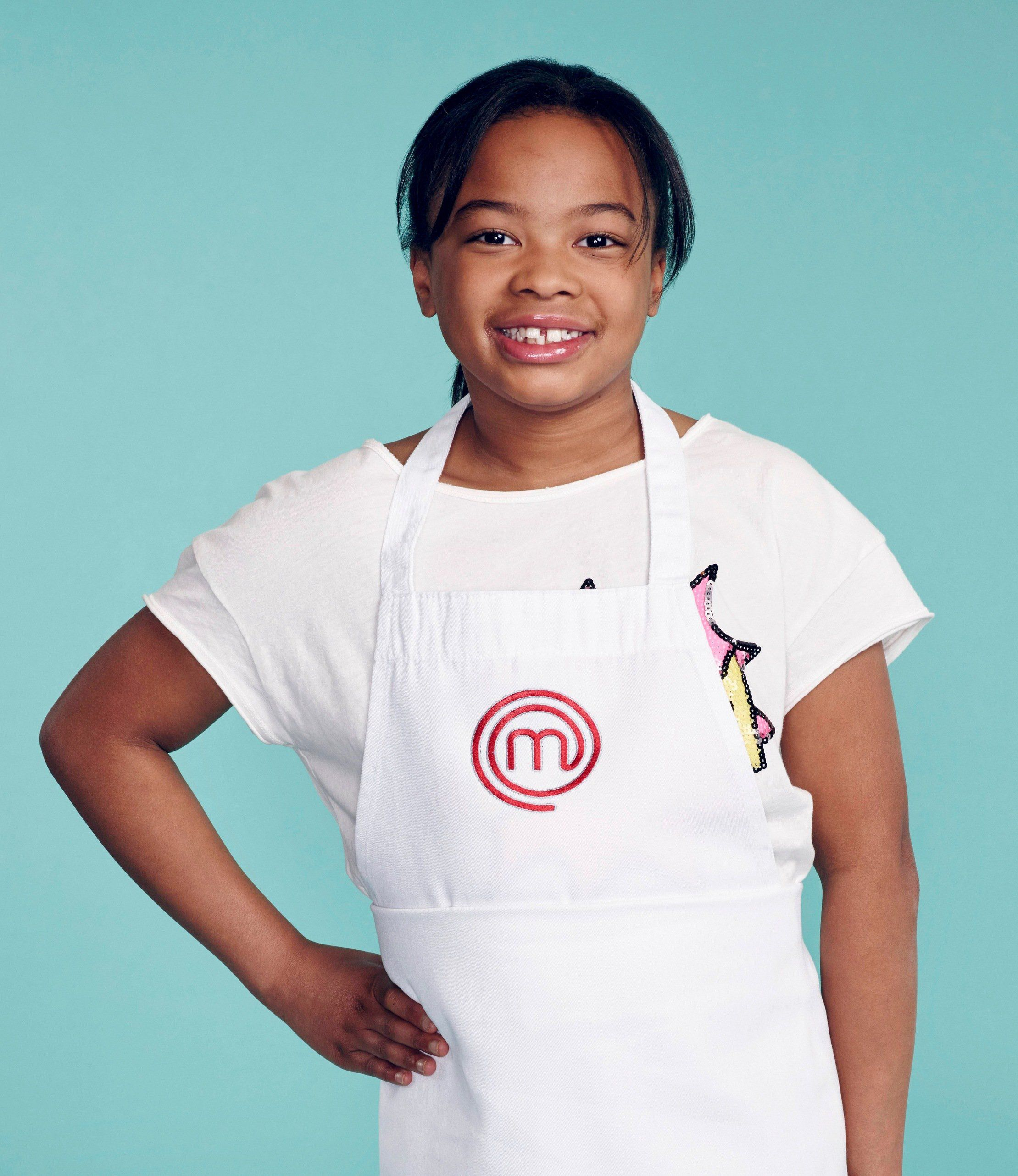 MASTERCHEF: JUNIOR EDITION: Contestant Ayla, 11, from St. Louis, MO ...