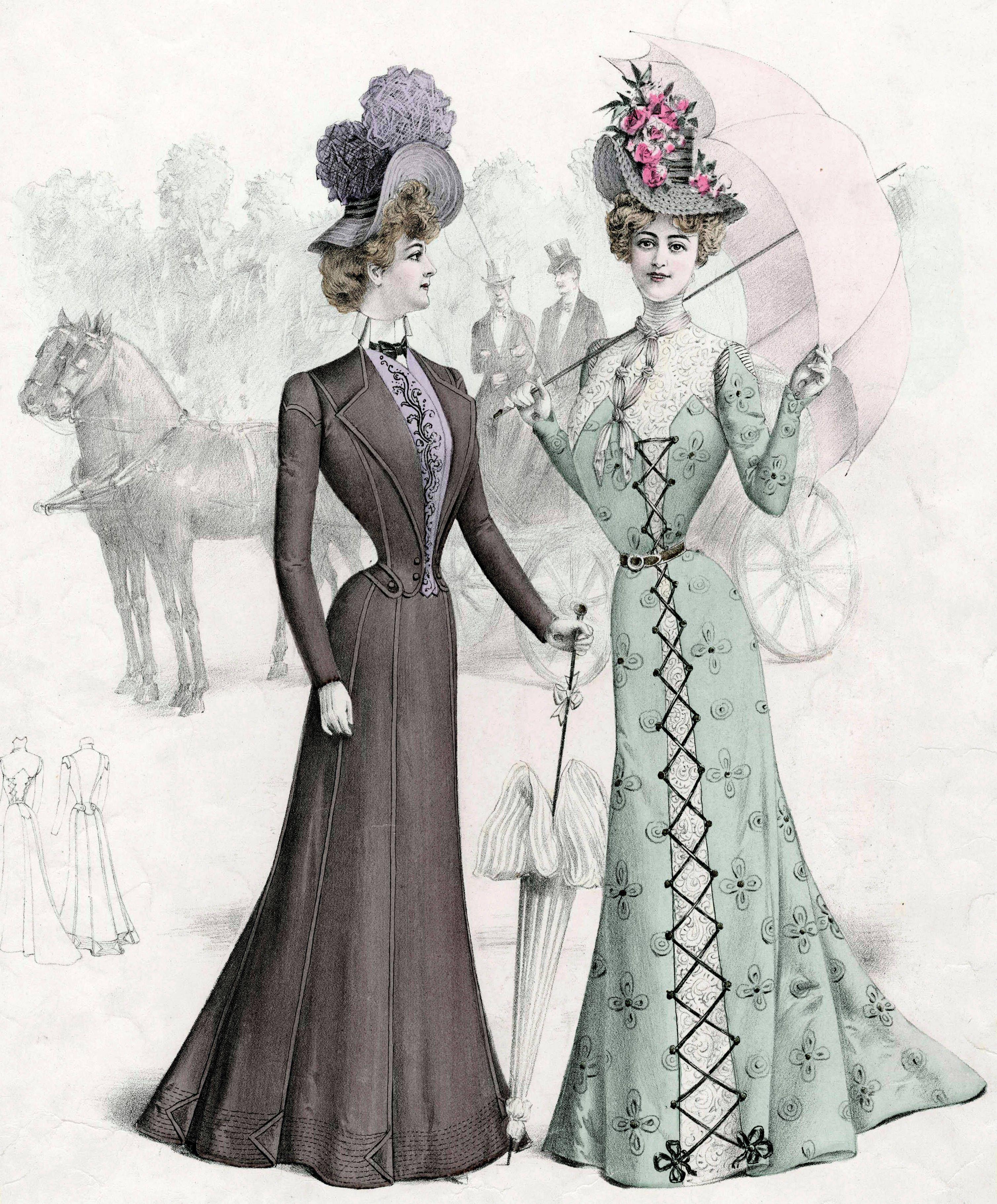 Victorian Fashion - 1900