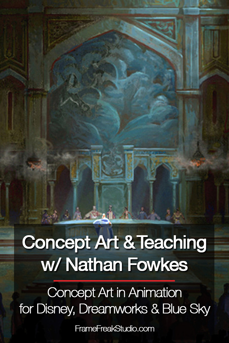 Nathan Fowkes Is An Amazing Concept Artist For Animation And Entertainment Projects He S Worked For Companies Like Dreamwork Art Concept Art Animation Company