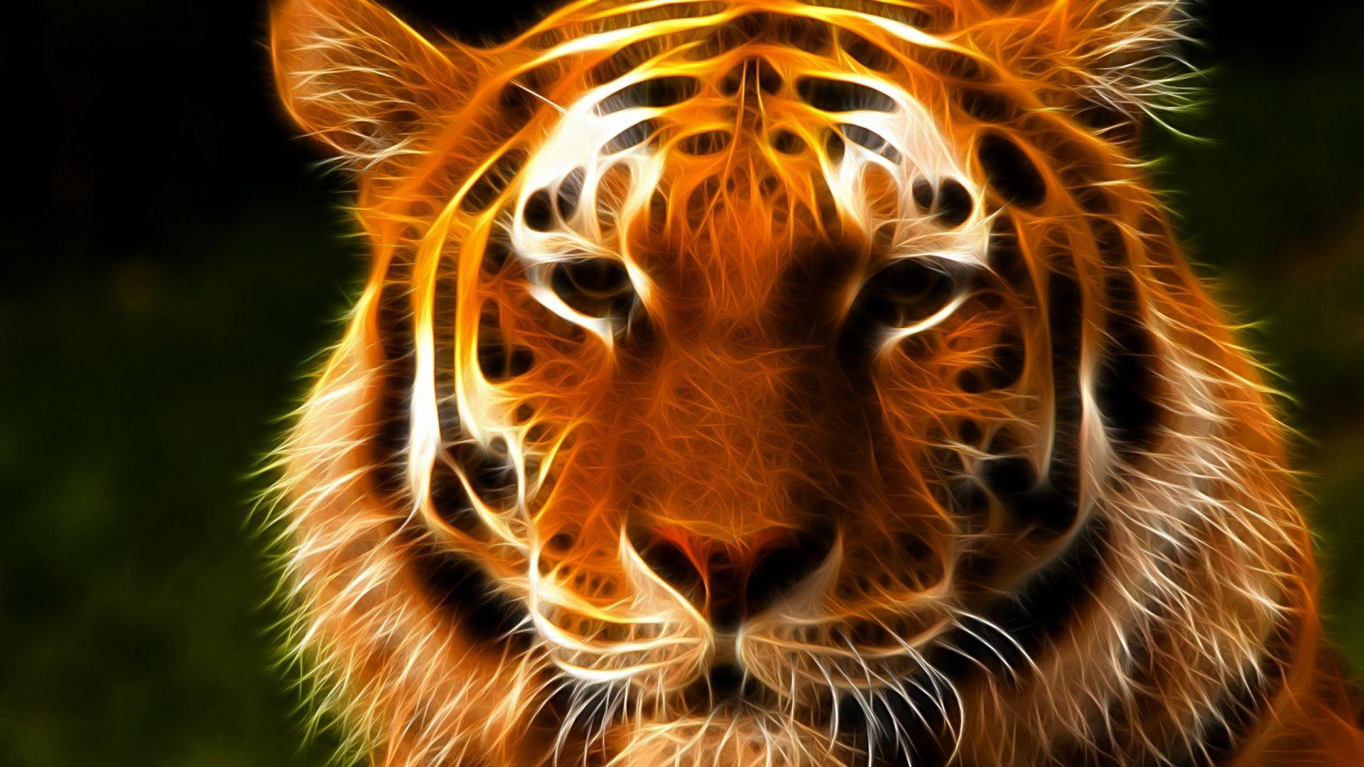 Digital art fantasy tiger face fantasy hd wallpapers pinterest digital art fantasy tiger face thecheapjerseys Image collections