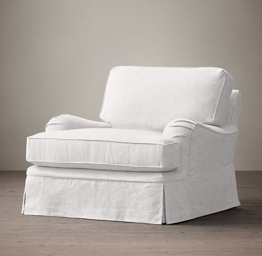 English roll arm slipcovered chair slipcovers for chairs