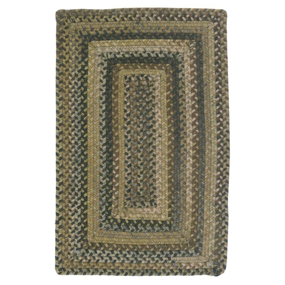 Home Decorators Collection Cabin Grecian Green 12 Ft X 15 Ft Rectangle Braided Area Rug Braided Area Rugs Area Rugs Area Rug Pad