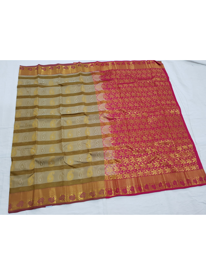 ac0bde88e9 Kanchipuram Pure Silks Offer Sarees 186 - Kanchipuram Sri Madheswaran Silk  Sarees Shop
