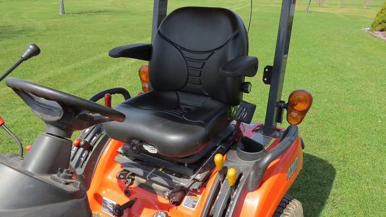 Replacing The Seat On My Kubota BX2360 With A Michigan