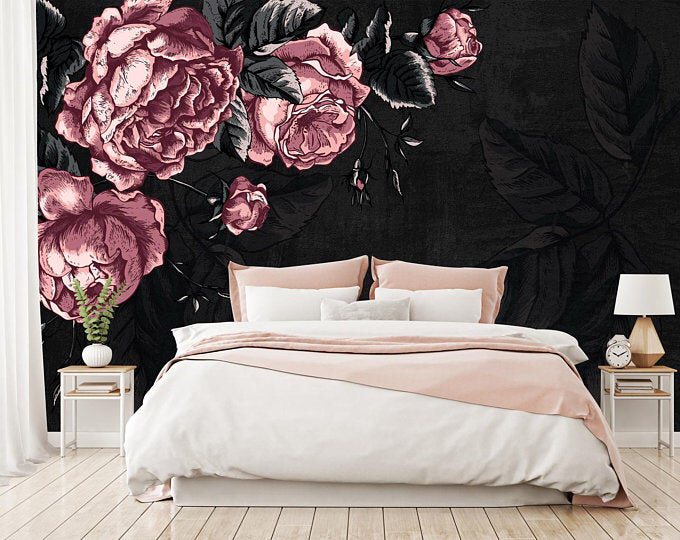 Bedroom Decor Edmonton Bedroom Vanity Decor Bedroom Decor Online Bedroom Decor Pillows Bedroom Decor With Light In 2020 Gothic Home Decor Floral Wallpaper Bedroom