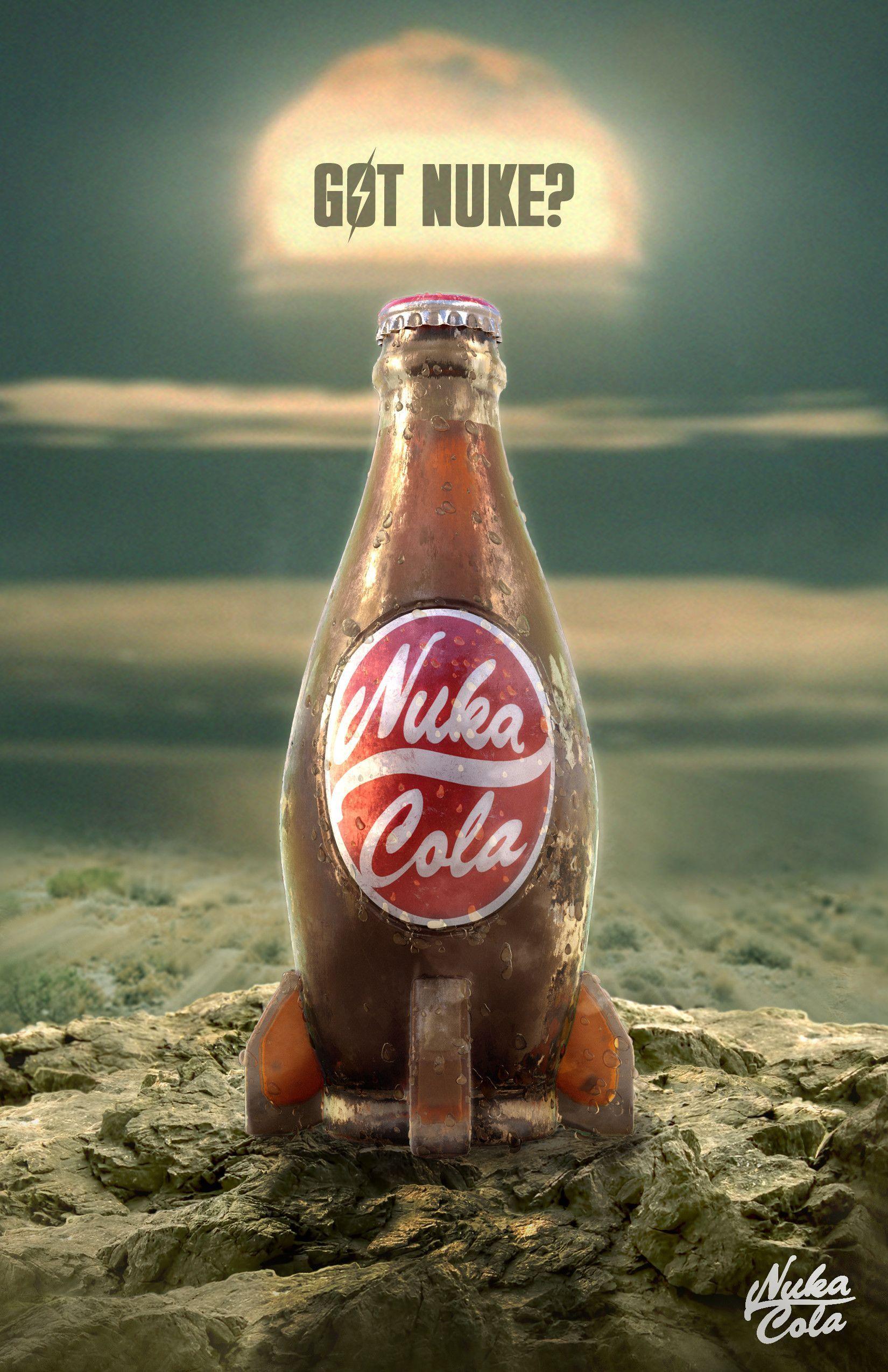 Fallout Nuka Cola Mediacola Fallout Art Fallout Nuka