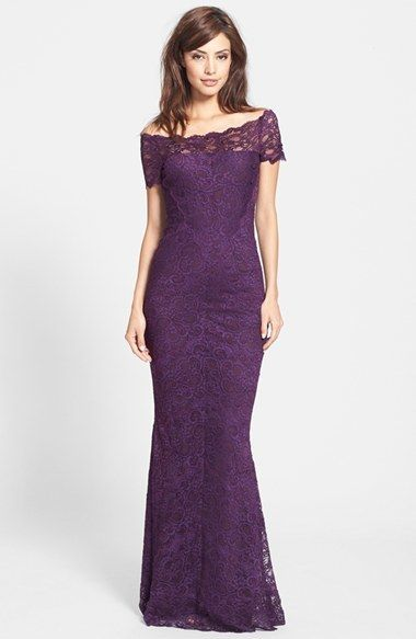 Dark Purple Evening Dress By Nicole Miller For 935 From Nordstrom