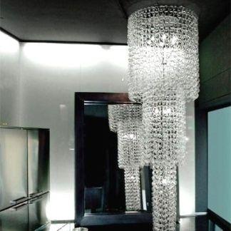 Lampadario vetro Milano