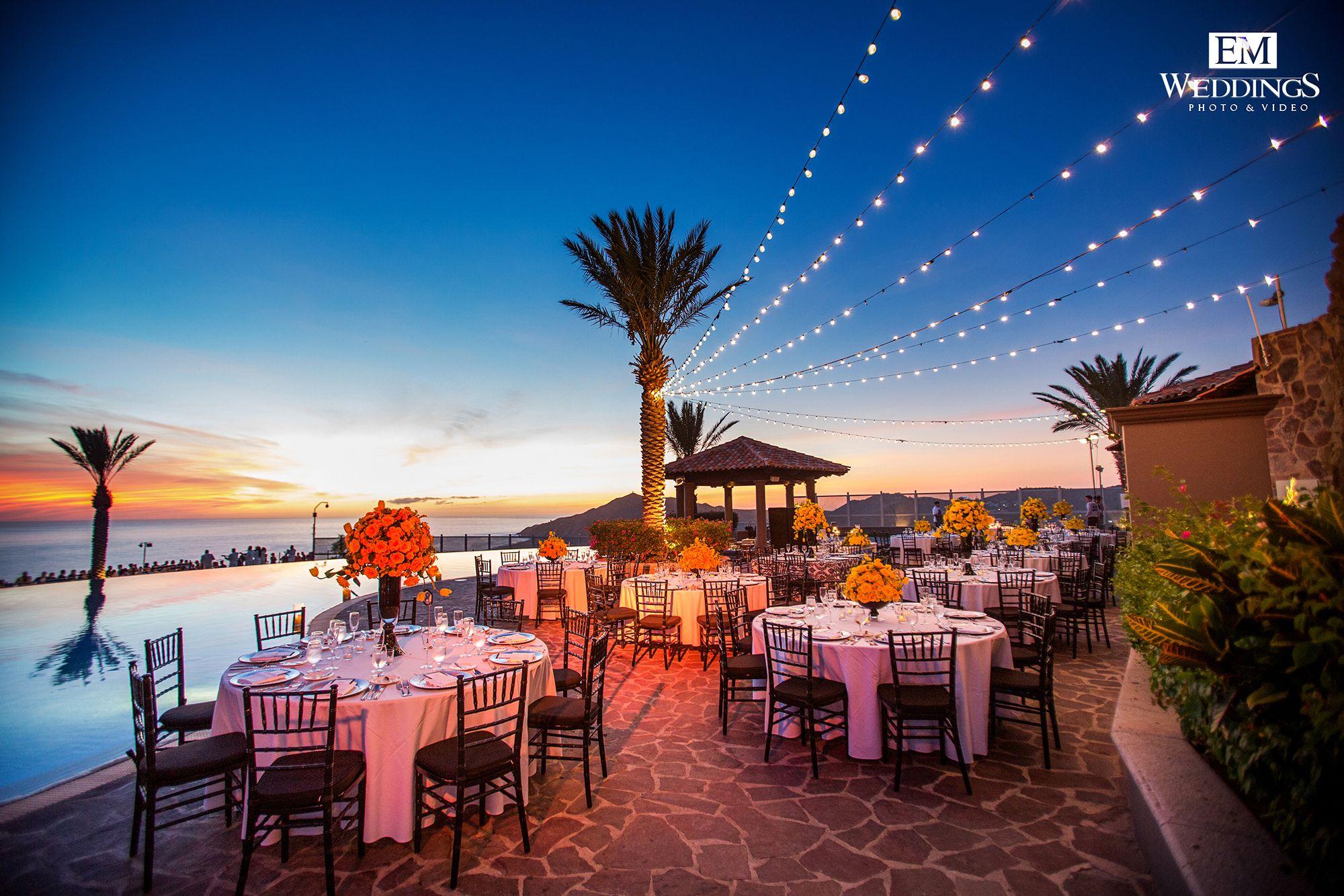 Wedding Decoration at Hotel Pueblo Bonito Sunset Beach