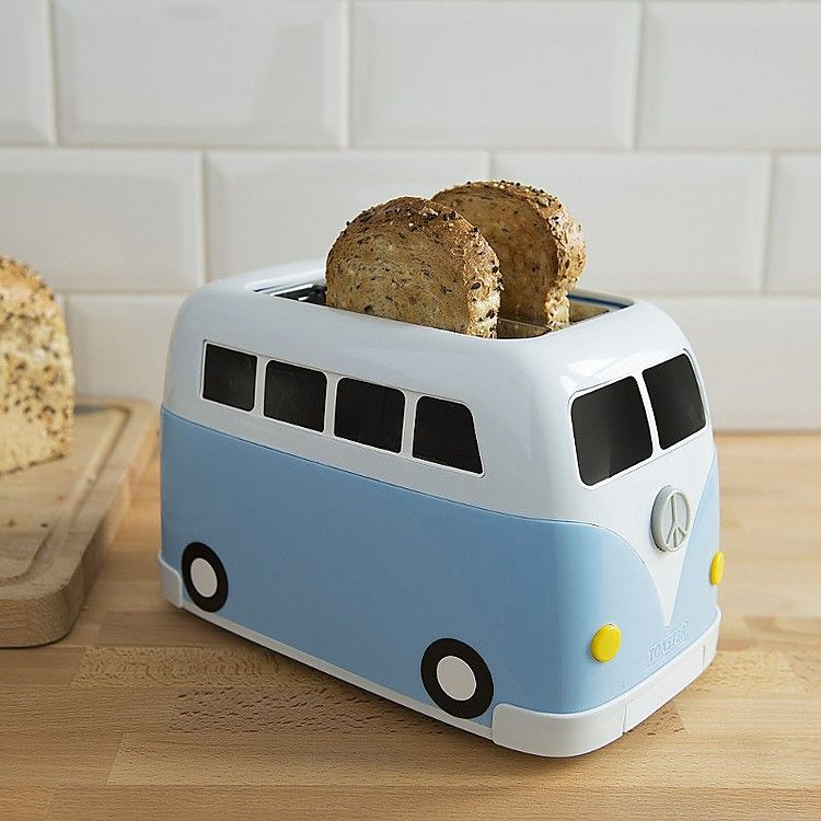 Aparca la tostadora furgoneta Volkswagen en tu cocina   wish list ...
