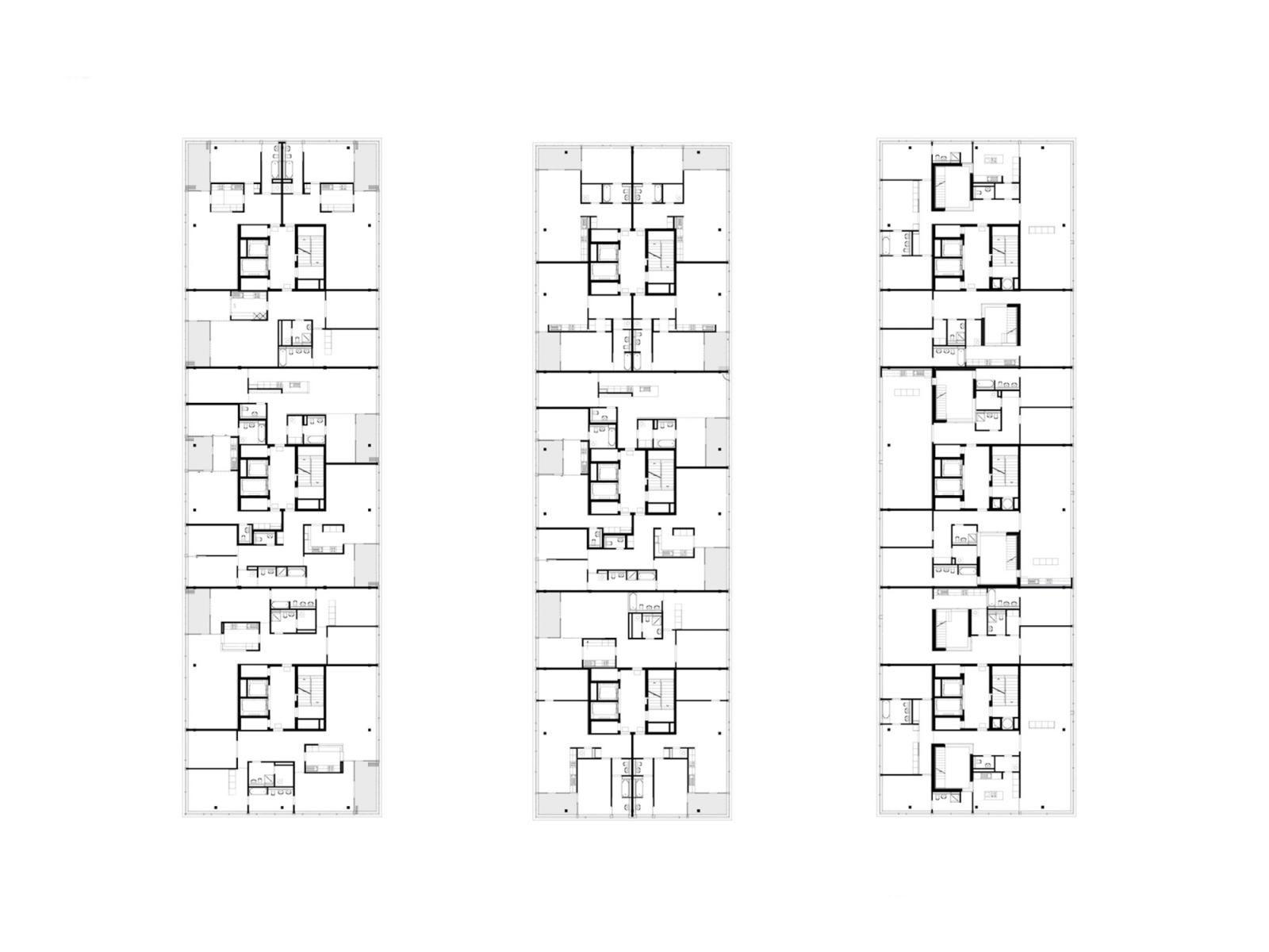 Wohnung zurich gmur geschwenter wohngrundrisse hochhaus grundriss wohnung und berbauung - Gmur architekten ...