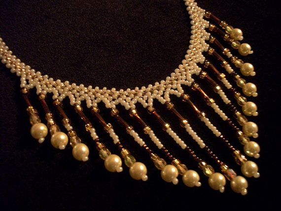 Bib Necklaces  Beaded Bib Necklace  Necklaces for Women by Rs4U, $28.95