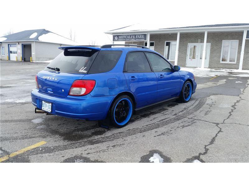 """""""Car 2003 Subaru Impreza WRX Wagon in METCALFE, ON"""