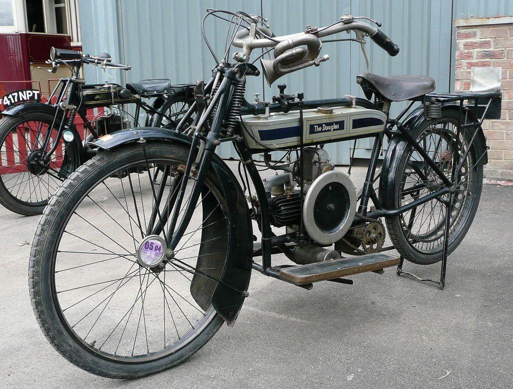 1912 Douglas Motorcycle Motorcycle Vintage Motorcycles Vintage Bikes