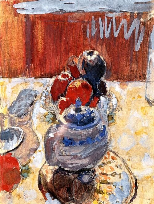 Still Life with Fruit Pierre Bonnard - 1930