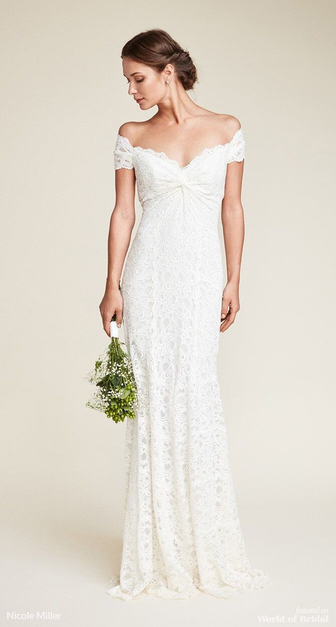 Nicole miller wedding dresses wedding day pinterest