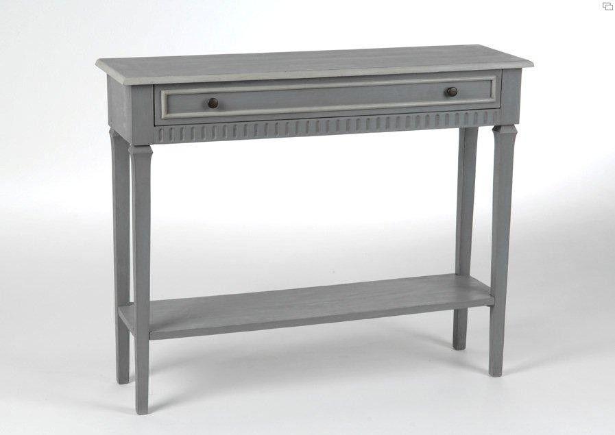 console grise hercule amadeus 100x30 meubles de salon. Black Bedroom Furniture Sets. Home Design Ideas
