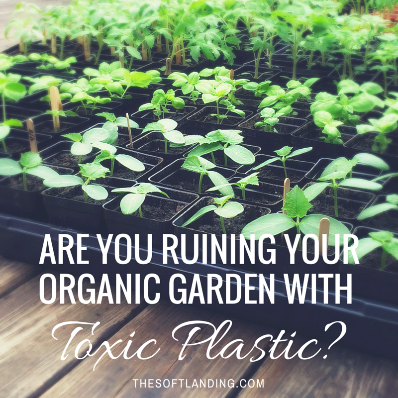 Are You Ruining Your Organic Garden With Toxic Plastic