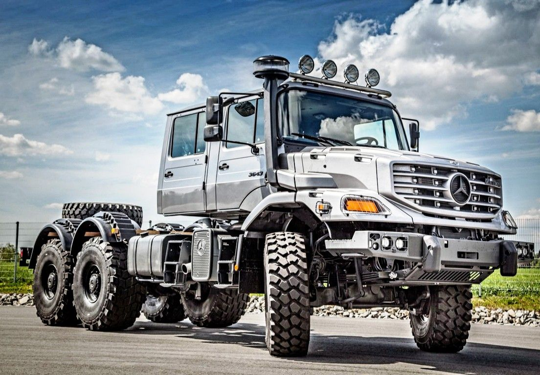 Mercedesbenz Zetros 2743 6x6 With Images Mercedes Truck