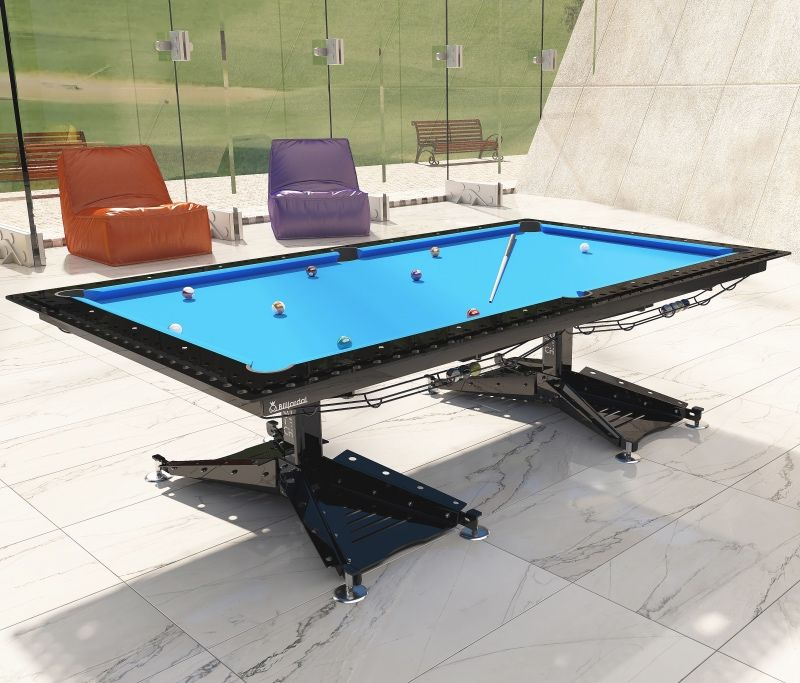 Industrial pool table in 2020 pool table dining table