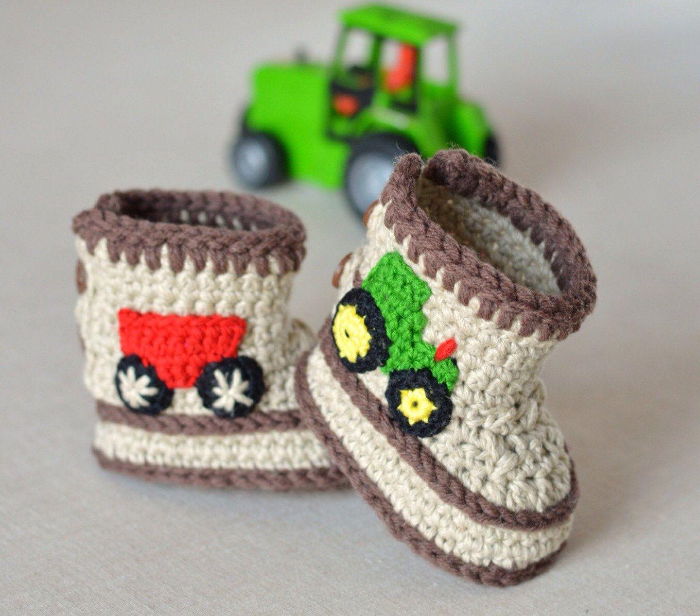 The Crochet Baby Boots Pattern : Crochet Pattern Baby Booties ...