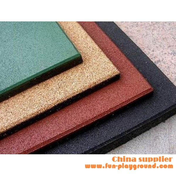 Rubber Floor Mat Outdoor Flooring Playground Safety