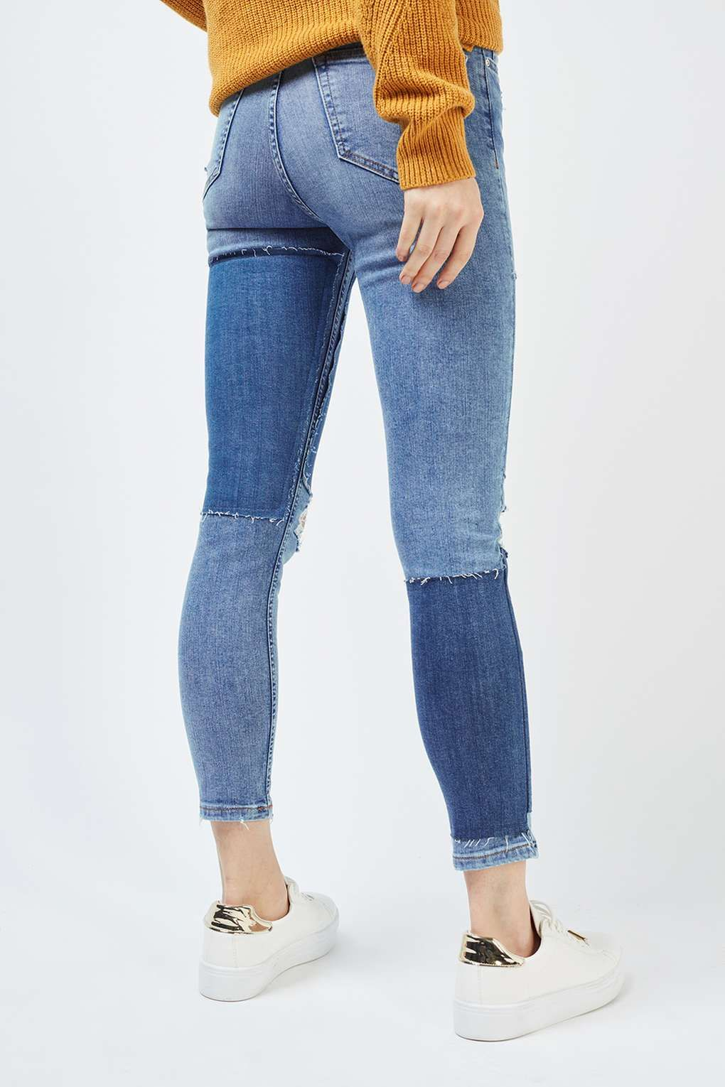 f1f15c2145 MOTO Panel Ripped Jamie Jeans | topshop | Jeans, Fashion, Clothes