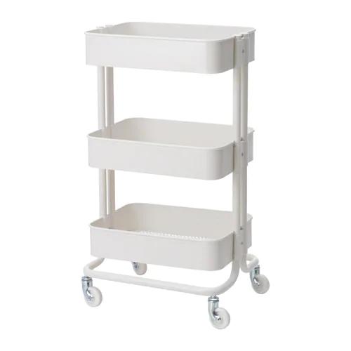 Raskog Utility Cart White 13 3 4x17 3 4x30 3 4 Raskog